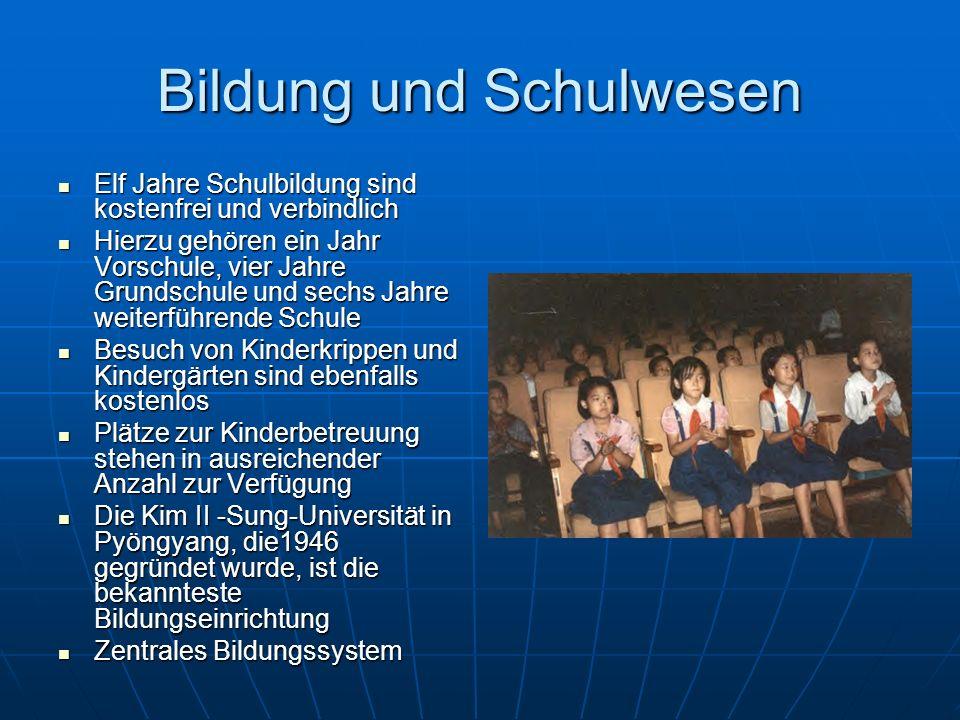 Bildung und Schulwesen