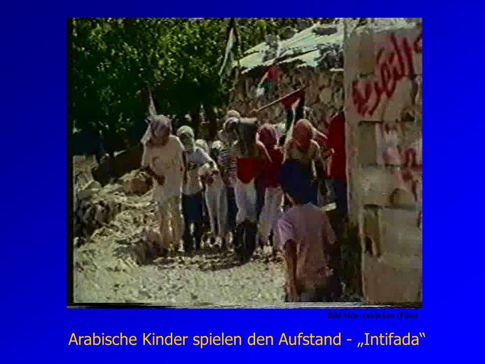 """Arabische Kinder spielen den Aufstand - """"Intifada"""