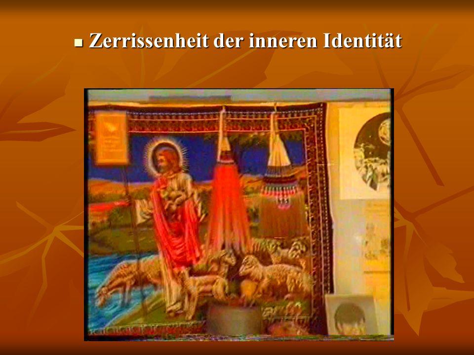Zerrissenheit der inneren Identität