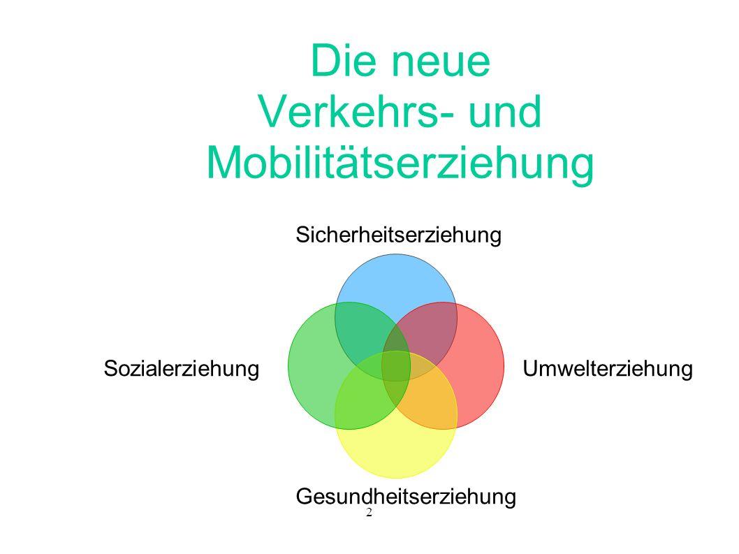 Die neue Verkehrs- und Mobilitätserziehung