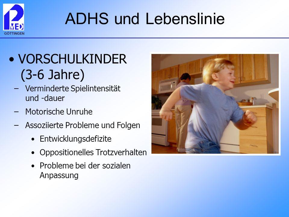 ADHS und Lebenslinie VORSCHULKINDER (3-6 Jahre)