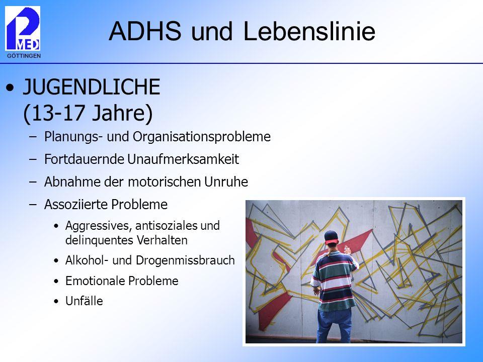 ADHS und Lebenslinie JUGENDLICHE (13-17 Jahre)