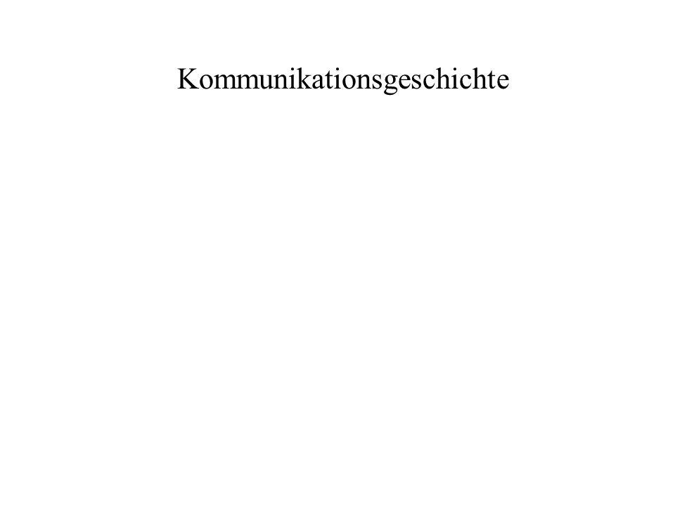 Kommunikationsgeschichte