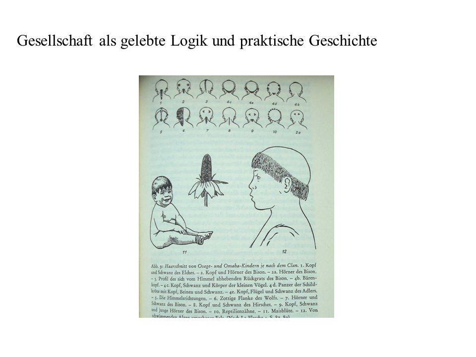 Gesellschaft als gelebte Logik und praktische Geschichte