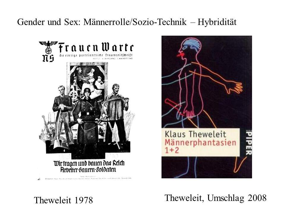 Gender und Sex: Männerrolle/Sozio-Technik – Hybridität