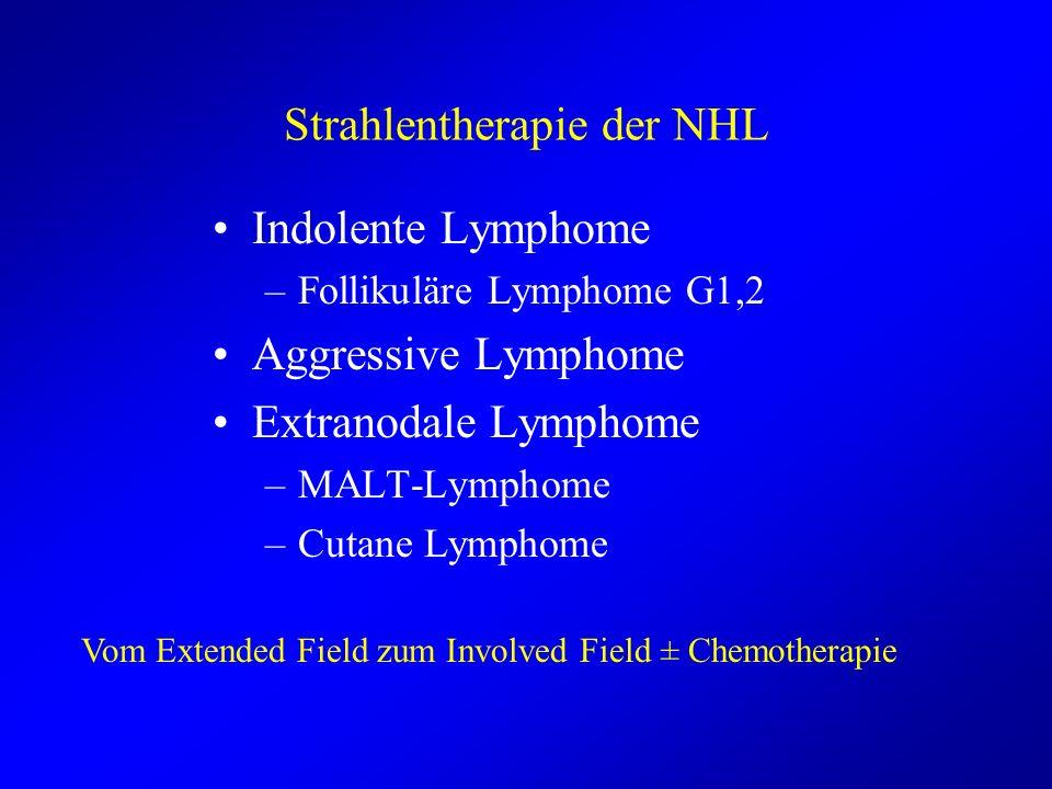 Strahlentherapie der NHL