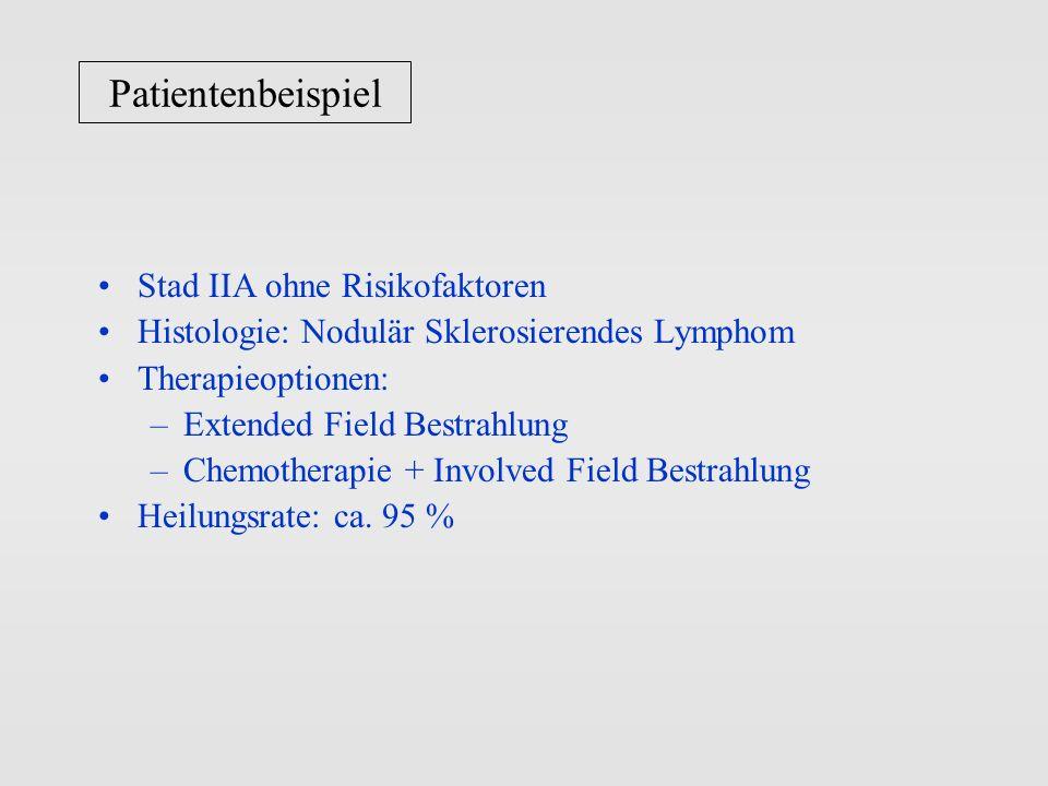 Patientenbeispiel Stad IIA ohne Risikofaktoren