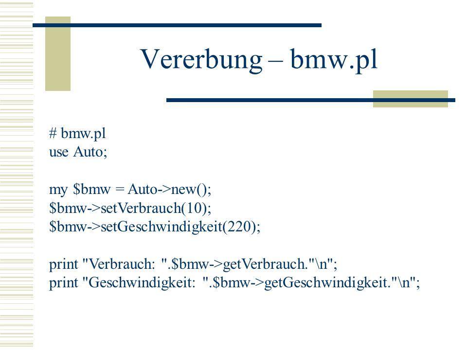 Vererbung – bmw.pl
