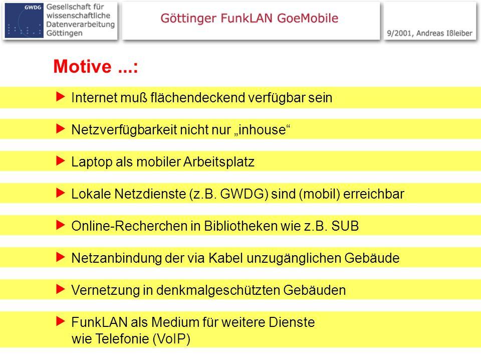 Motive ...:  Internet muß flächendeckend verfügbar sein
