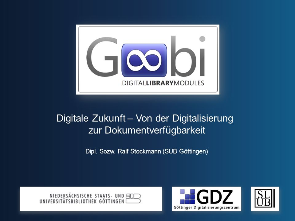 Digitale Zukunft – Von der Digitalisierung zur Dokumentverfügbarkeit