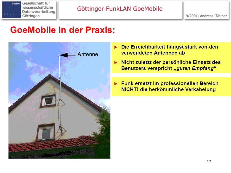 GoeMobile in der Praxis: