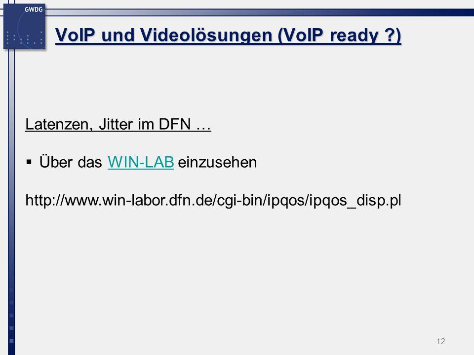 VoIP und Videolösungen (VoIP ready )