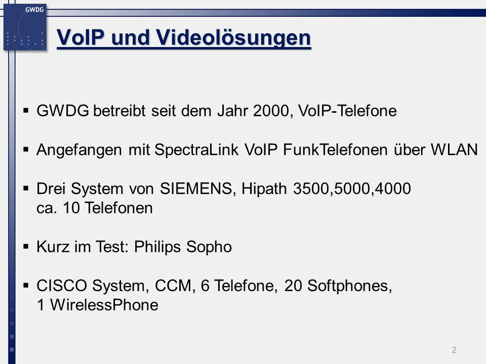 VoIP und Videolösungen