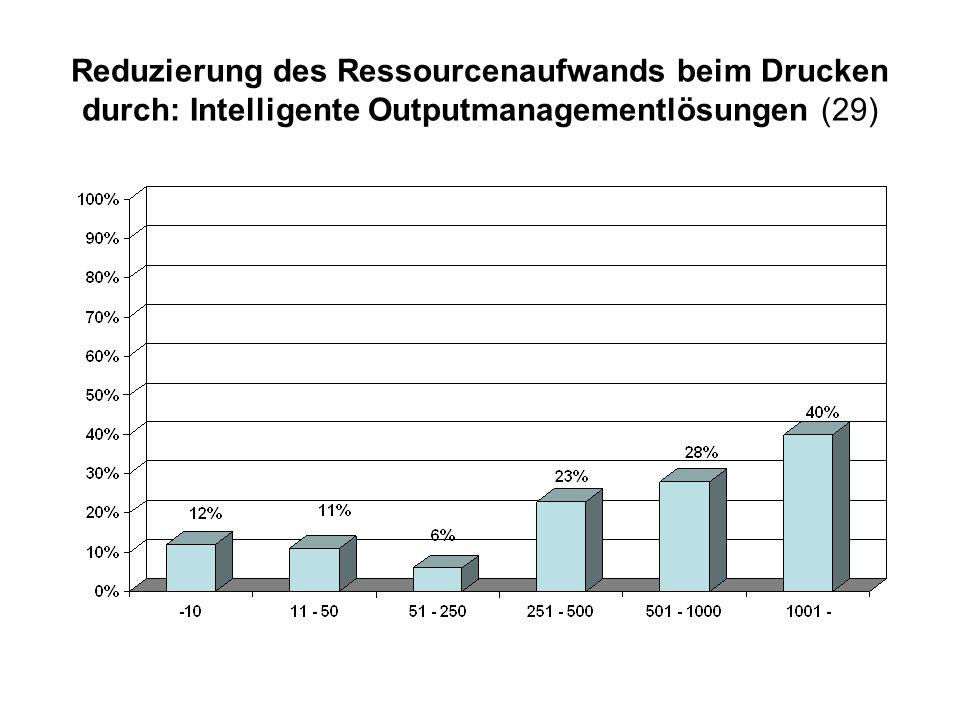 Reduzierung des Ressourcenaufwands beim Drucken durch: Intelligente Outputmanagementlösungen (29)