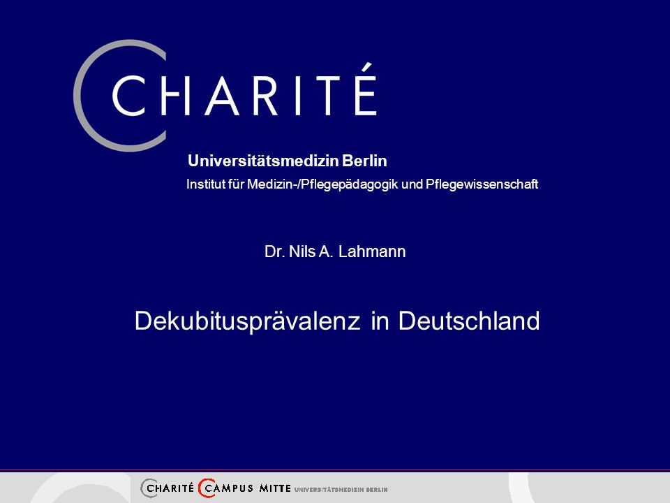 Universitätsmedizin Berlin