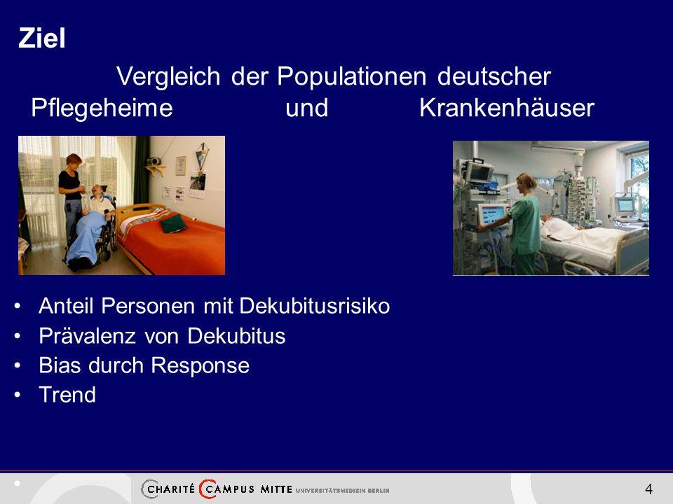 Vergleich der Populationen deutscher