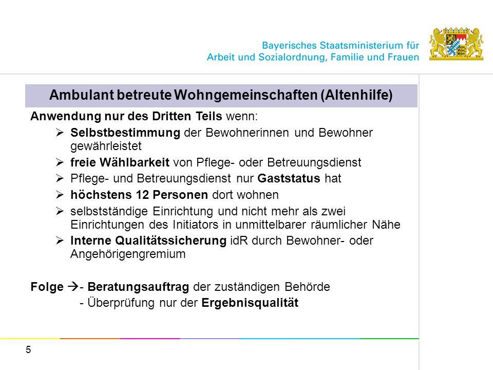 Ambulant betreute Wohngemeinschaften (Altenhilfe)