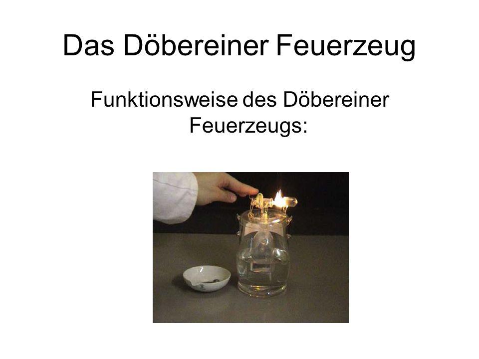 Das Döbereiner Feuerzeug