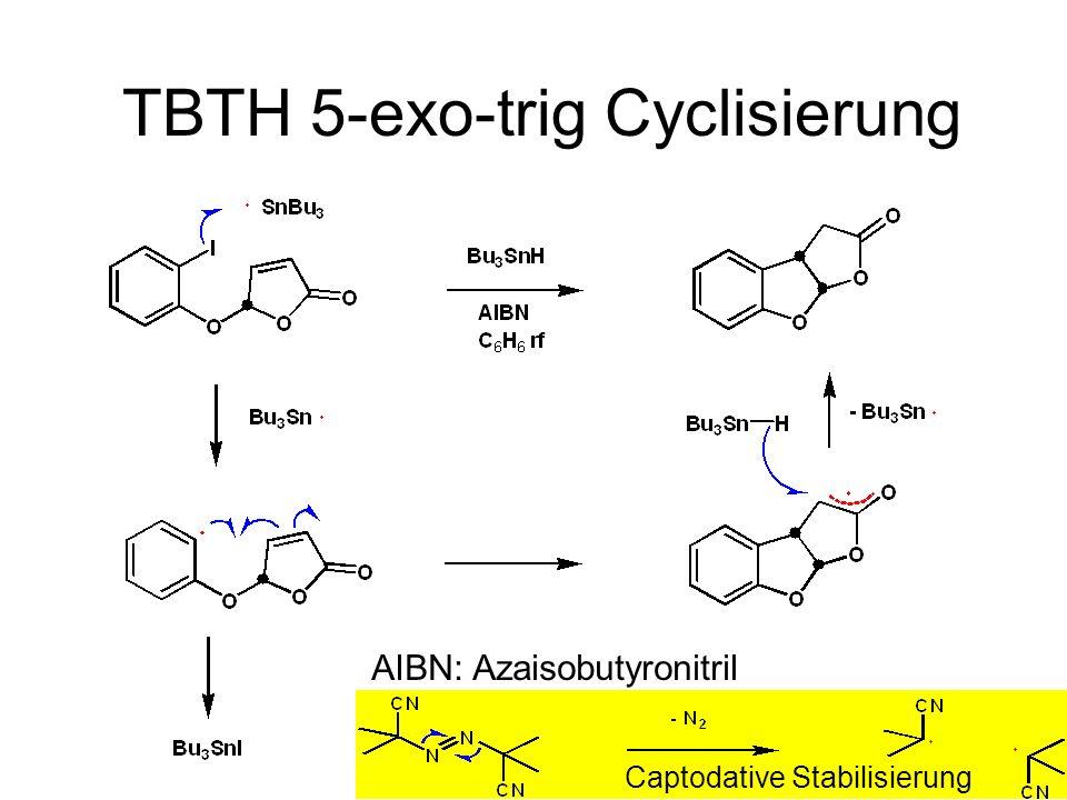 TBTH 5-exo-trig Cyclisierung