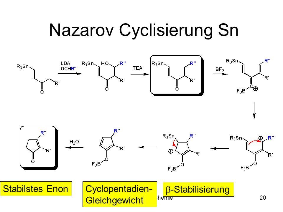Nazarov Cyclisierung Sn
