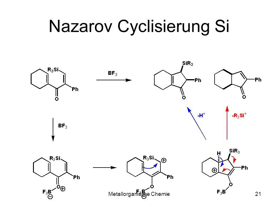 Nazarov Cyclisierung Si