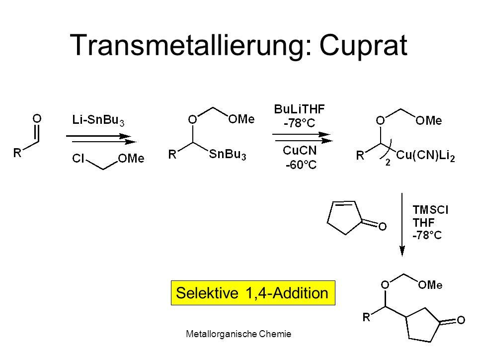 Transmetallierung: Cuprat