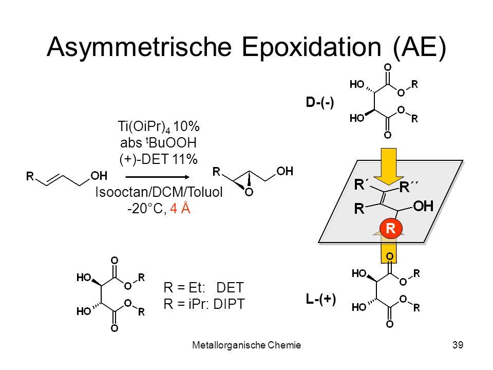 Asymmetrische Epoxidation (AE)