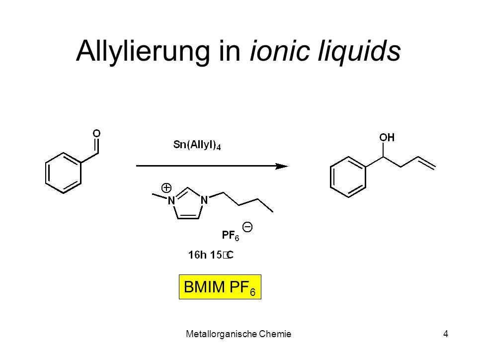 Allylierung in ionic liquids