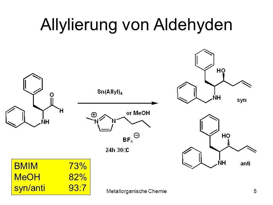 Allylierung von Aldehyden