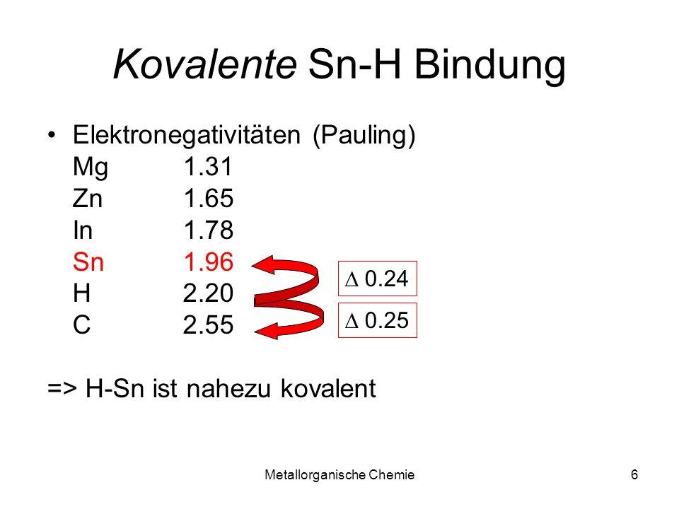 Kovalente Sn-H Bindung