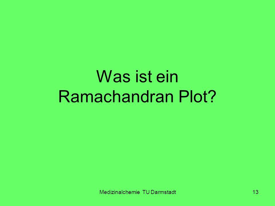 Was ist ein Ramachandran Plot