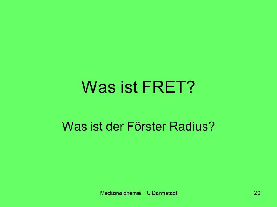 Was ist der Förster Radius