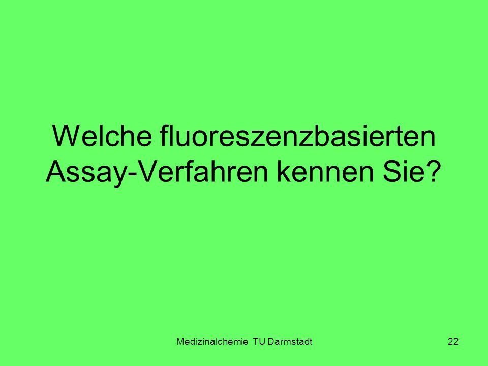 Welche fluoreszenzbasierten Assay-Verfahren kennen Sie