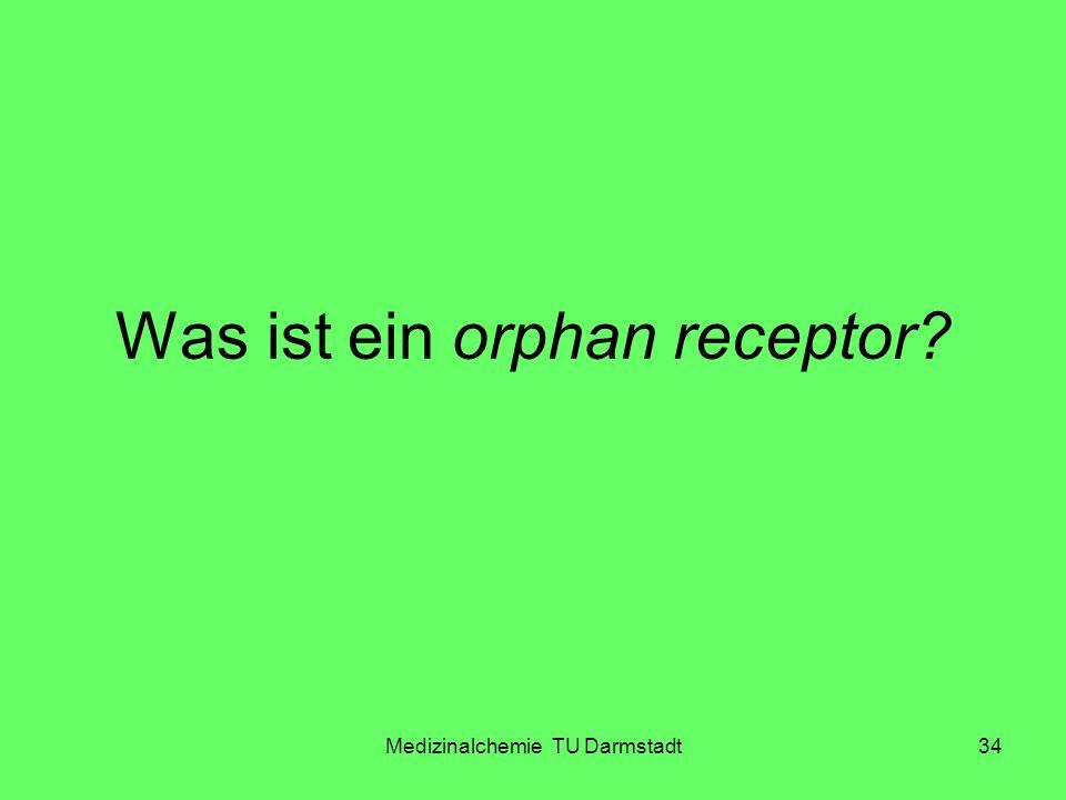 Was ist ein orphan receptor