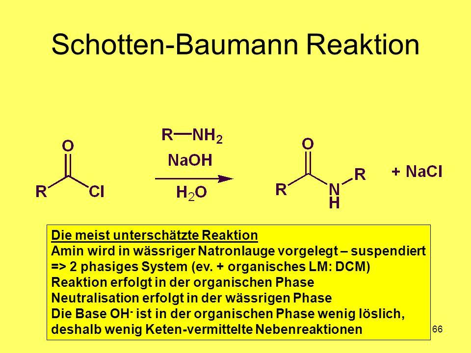 Schotten-Baumann Reaktion