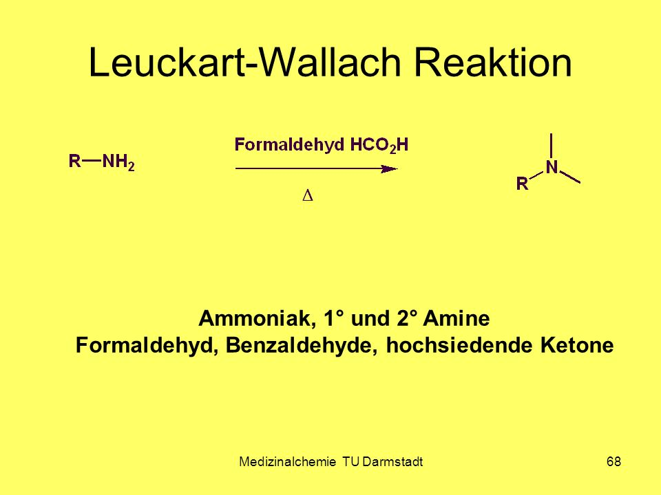 Leuckart-Wallach Reaktion