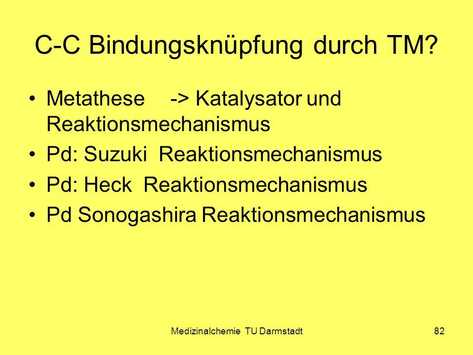 C-C Bindungsknüpfung durch TM