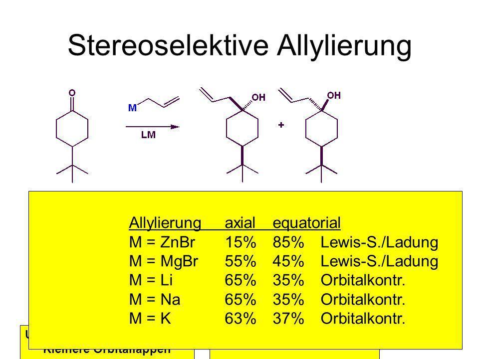 Stereoselektive Allylierung