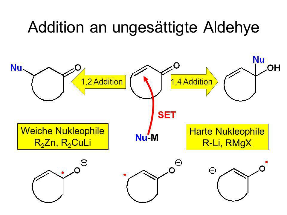 Addition an ungesättigte Aldehye