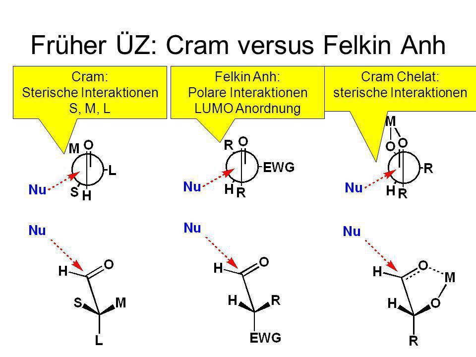 Früher ÜZ: Cram versus Felkin Anh