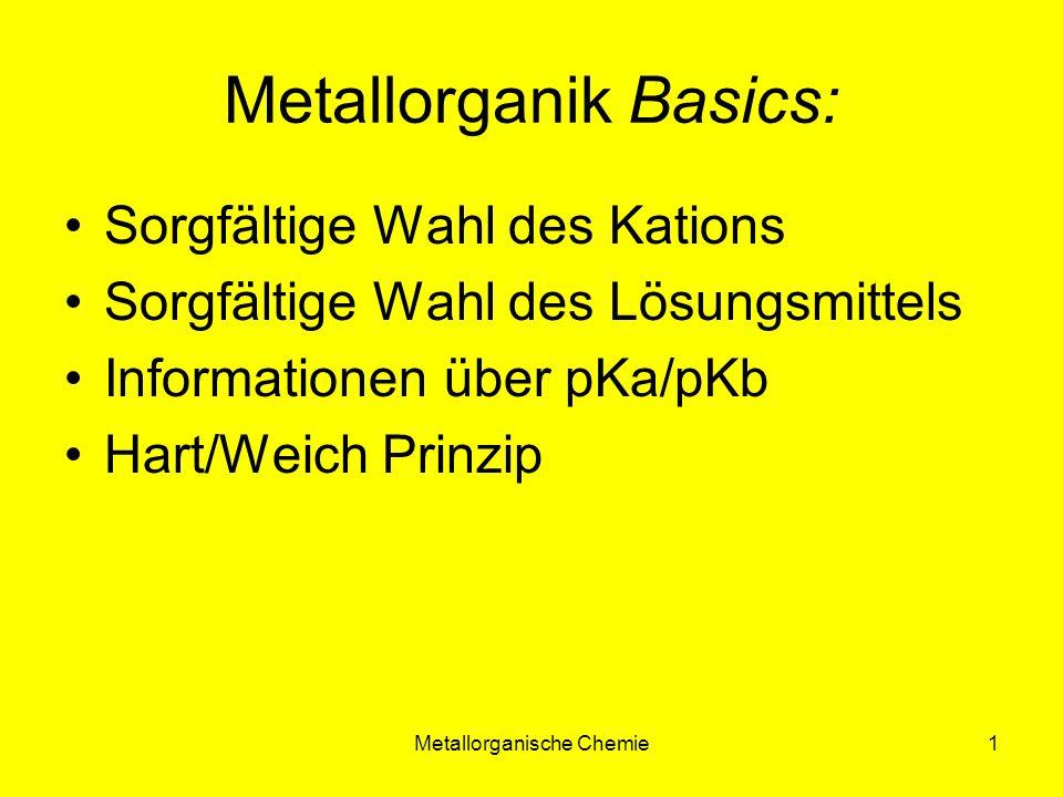 Metallorganik Basics: