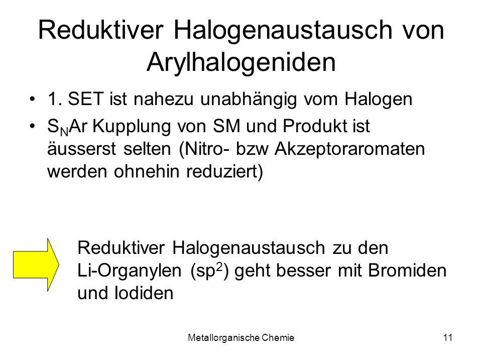 Reduktiver Halogenaustausch von Arylhalogeniden