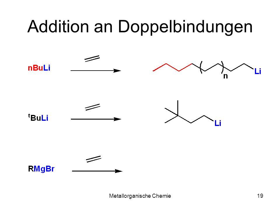 Addition an Doppelbindungen