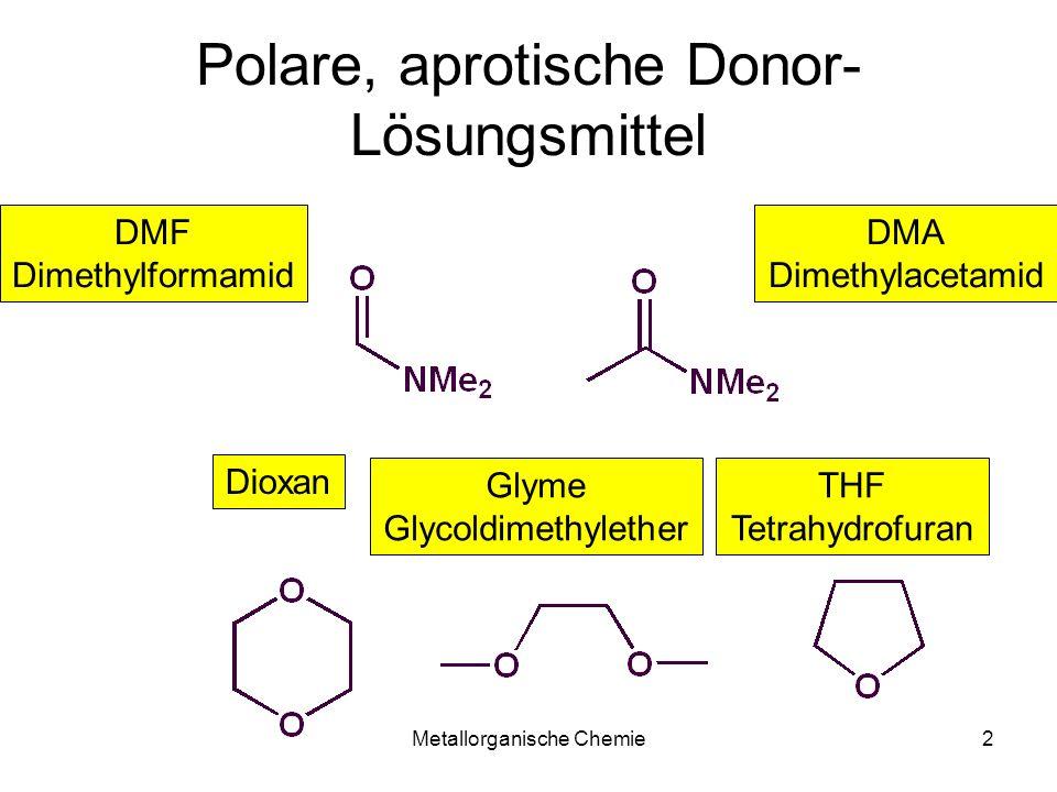 Polare, aprotische Donor-Lösungsmittel