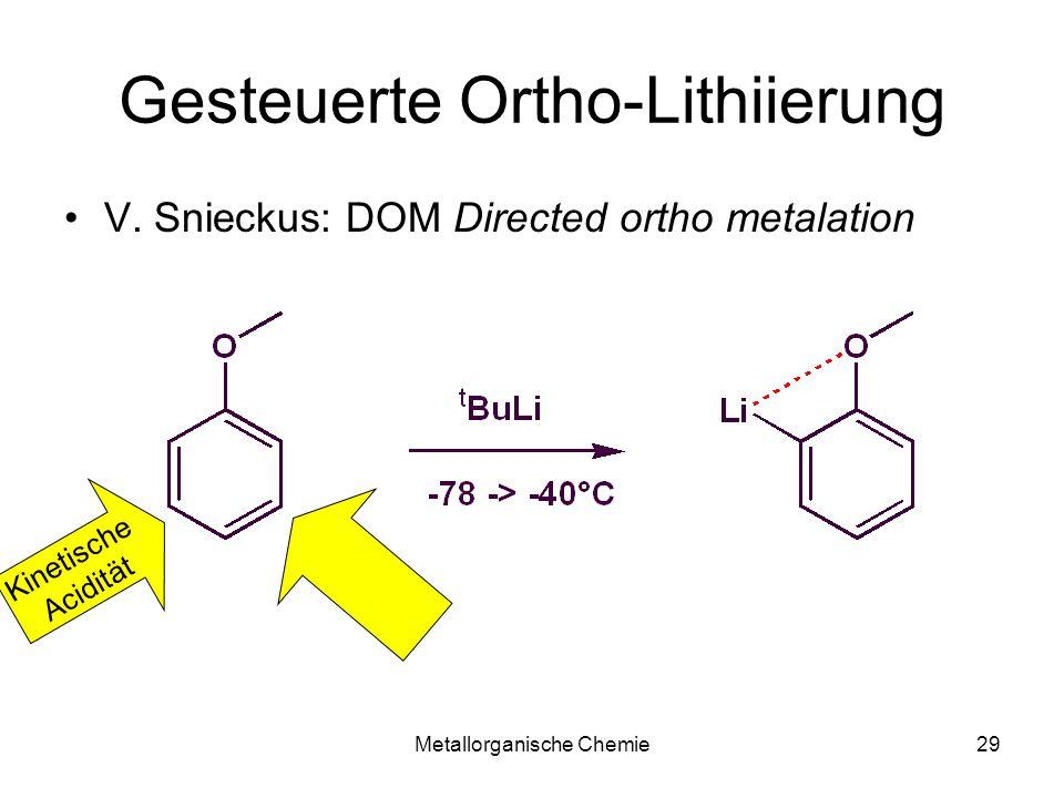 Gesteuerte Ortho-Lithiierung