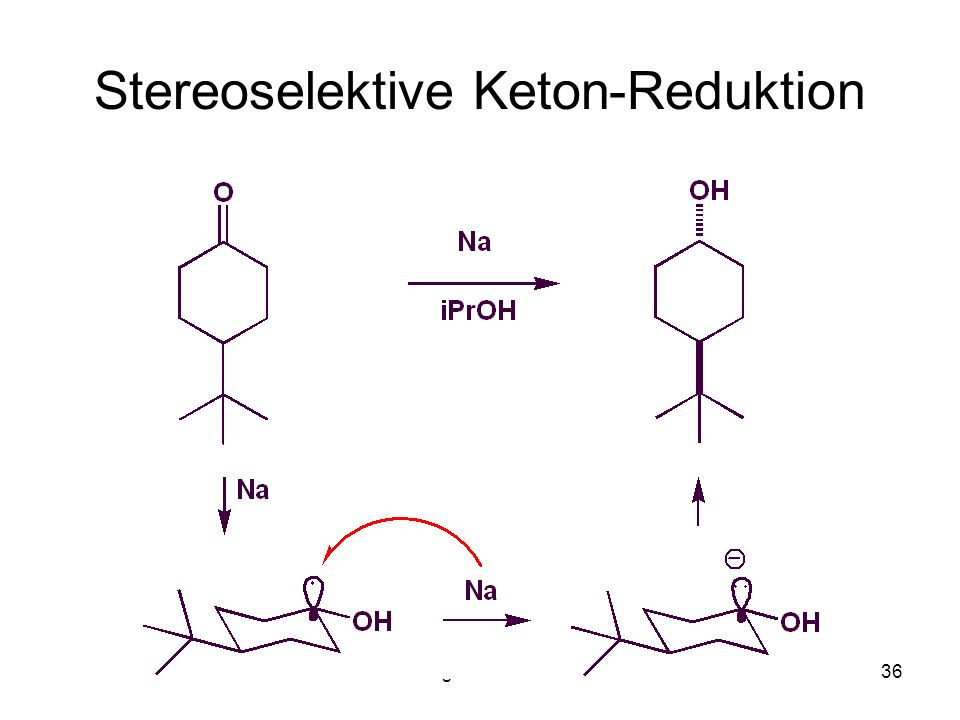 Stereoselektive Keton-Reduktion