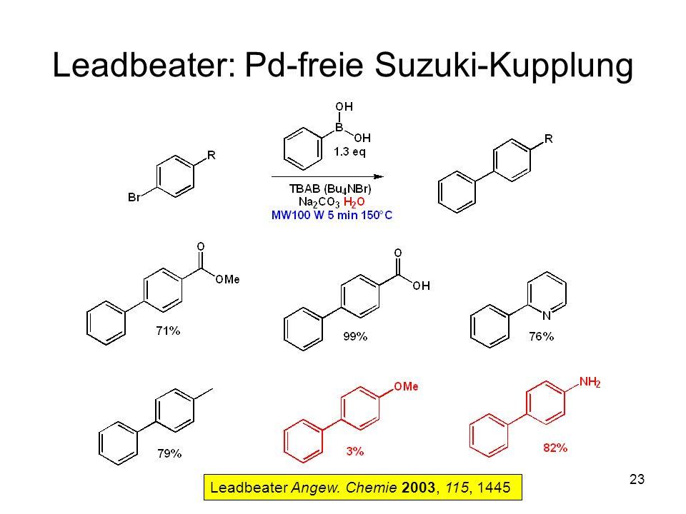 Leadbeater: Pd-freie Suzuki-Kupplung