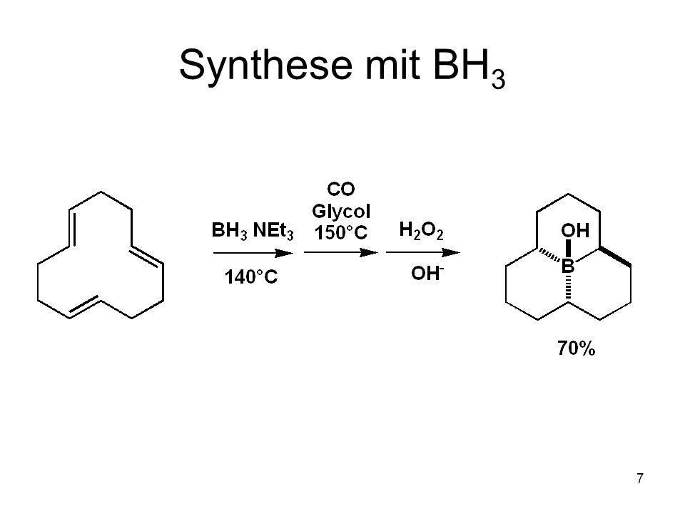 Synthese mit BH3