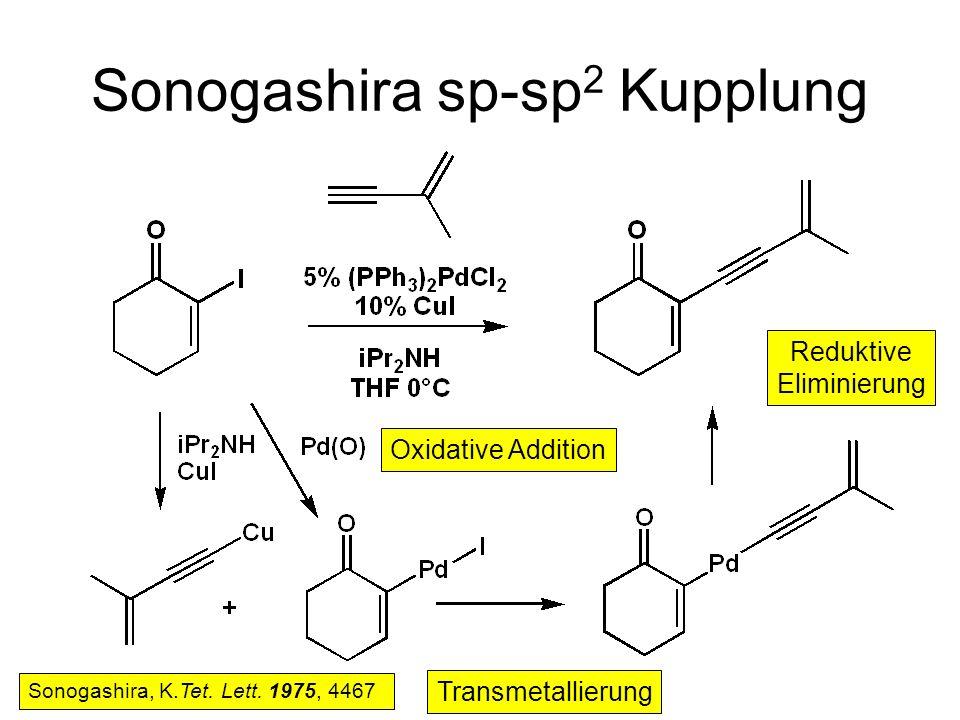 Sonogashira sp-sp2 Kupplung