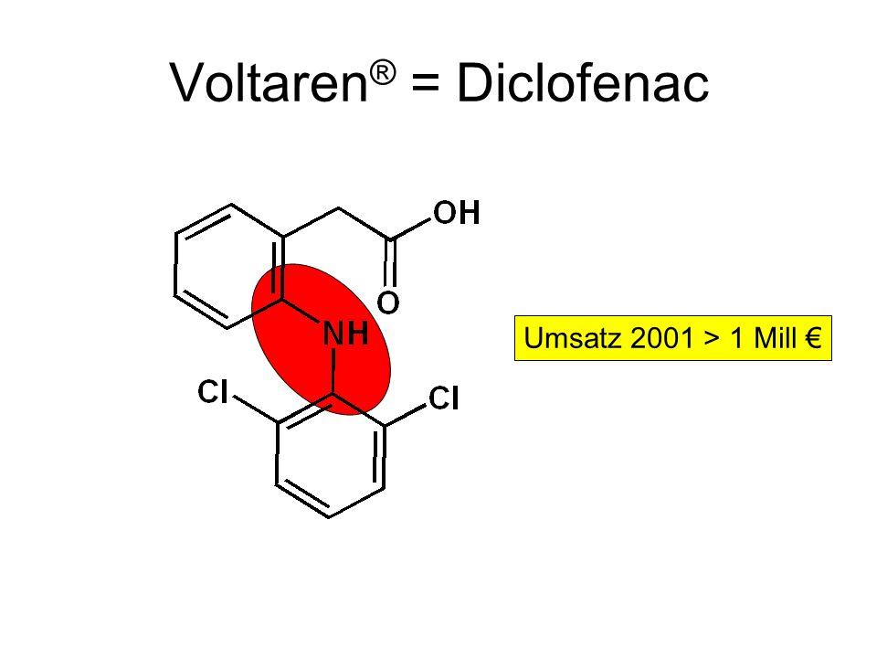 Voltaren® = Diclofenac